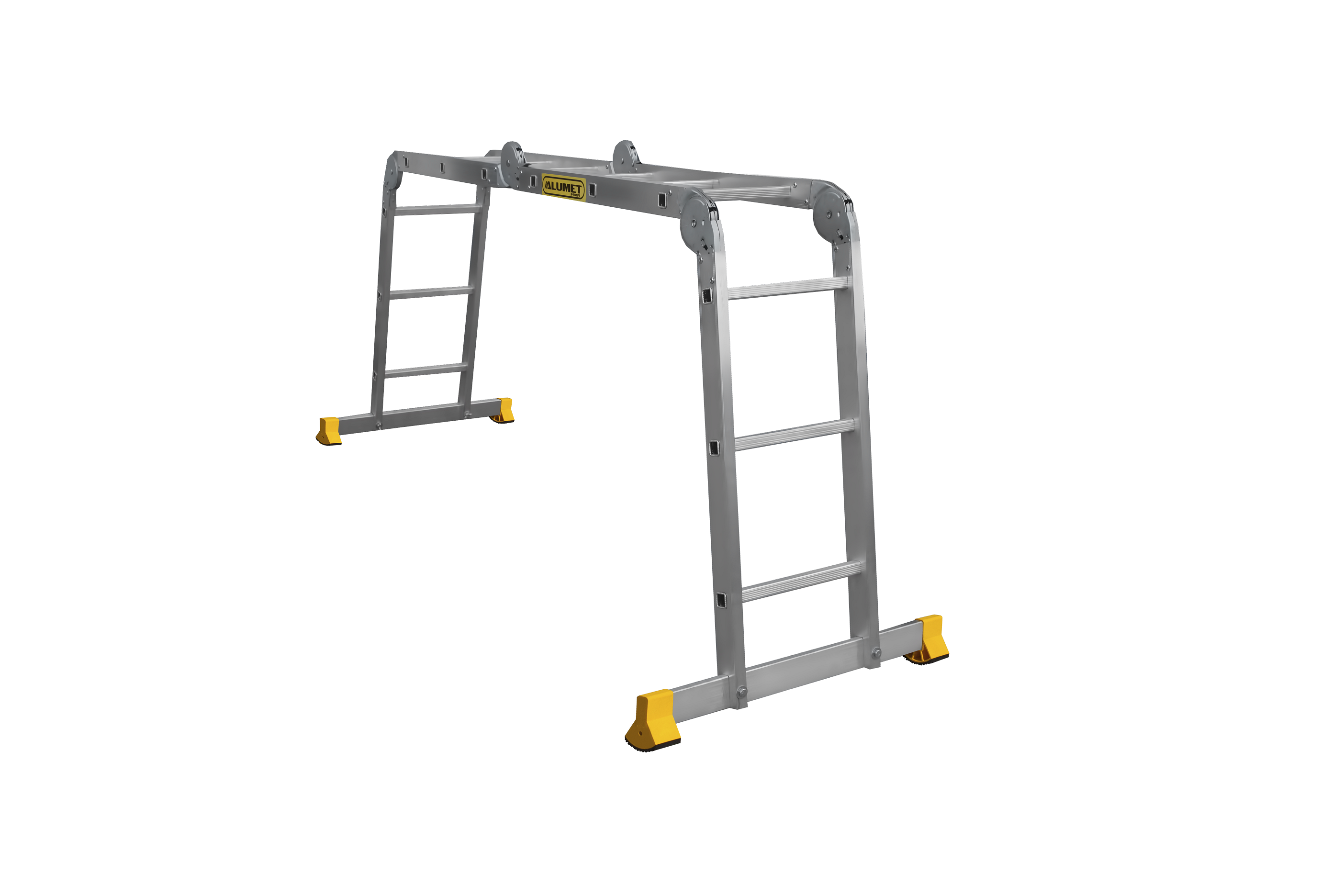 ALUMET Алюминиевая лестница-трансформер 4Х3 (арт. Т433)
