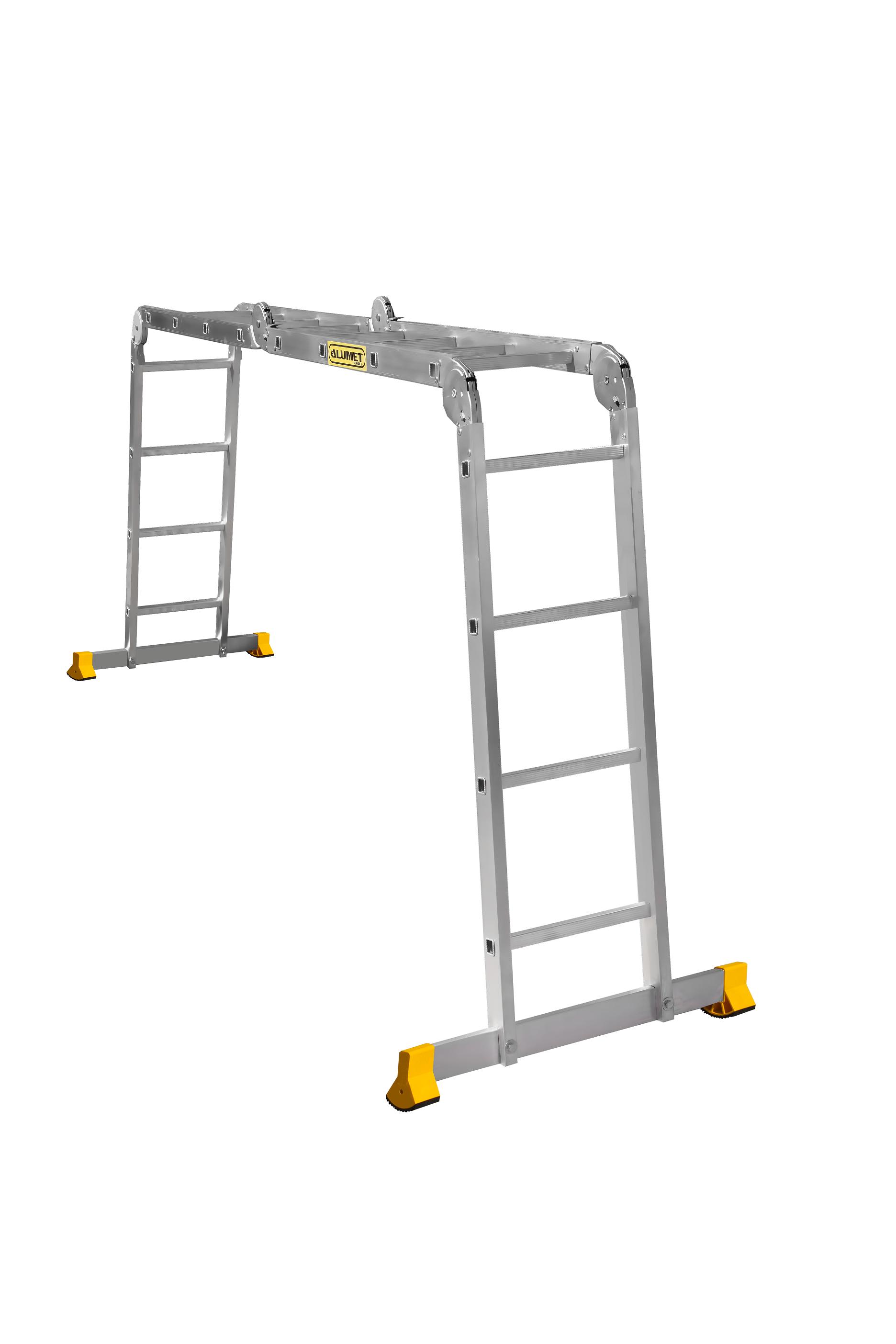 ALUMET Алюминиевая лестница-трансформер 4Х4 (арт. Т444)