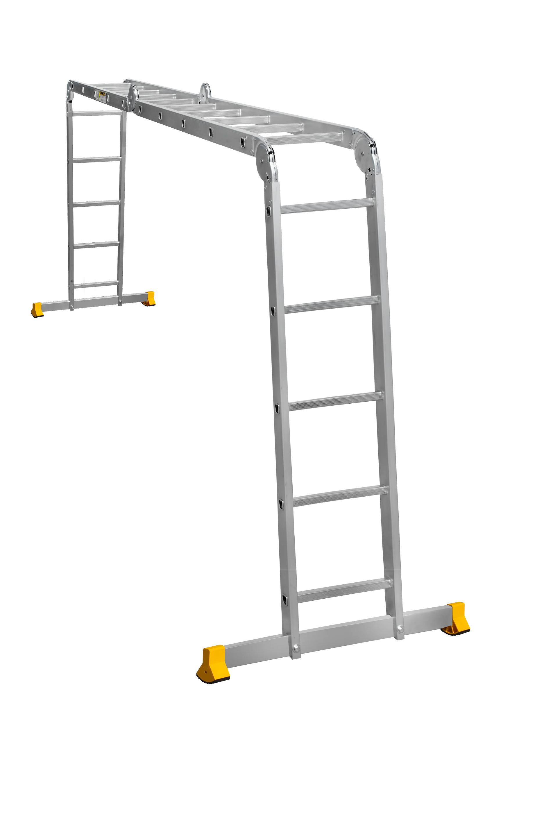ALUMET Алюминиевая лестница-трансформерt 4Х5 (арт. Т455)