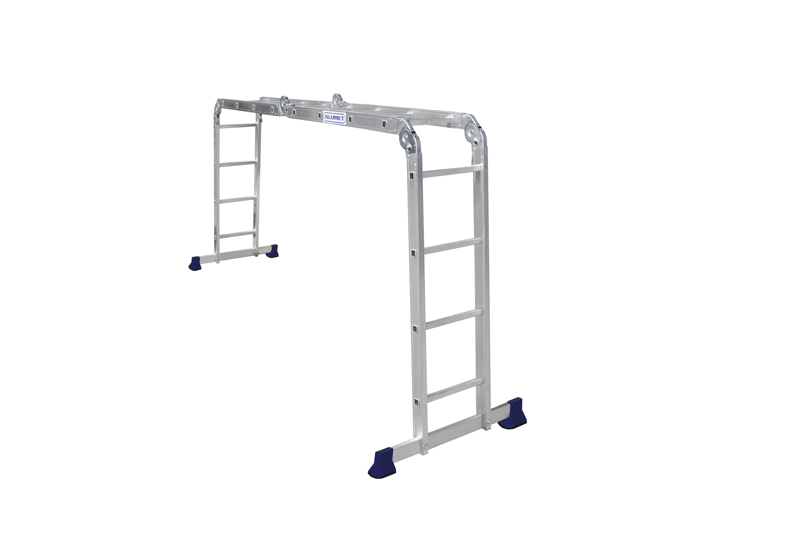 Облегченная лестница-трансформер Alumet 4Х4