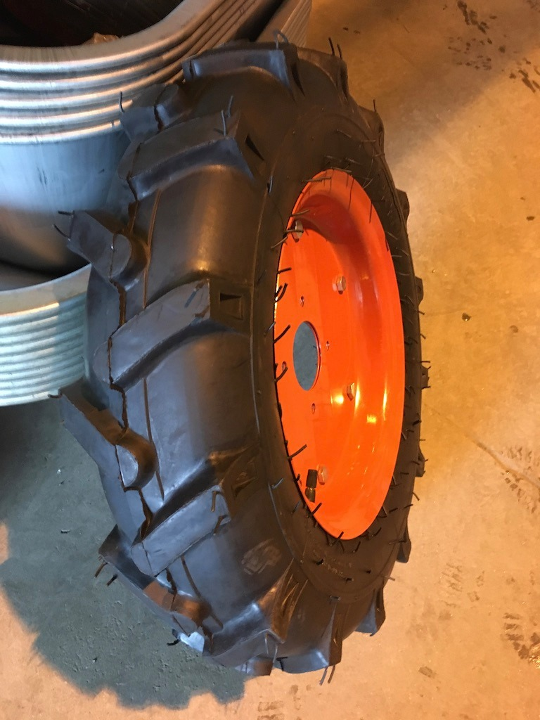 Пневматическое колесо для мотоблока 5.00-12 ( d 550)