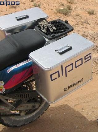 Alpos алюминиевый кофр (мотобокс) С41 арт. C520206
