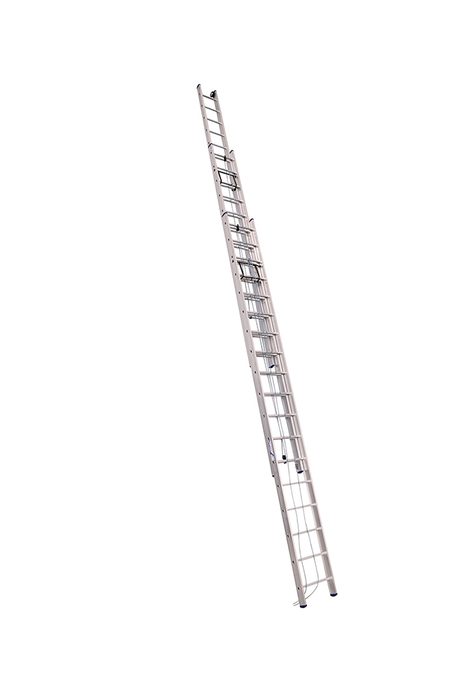 Лестница трёхсекционная 3Х10 ст. проф. с канатной тягой серия SR3, арт.3310