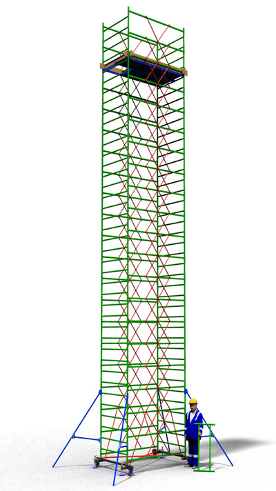 Вышка тура строительная ТТ2000РН (12,50)