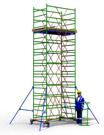 Вышка тура строительная ТТ2000РН (6,50)