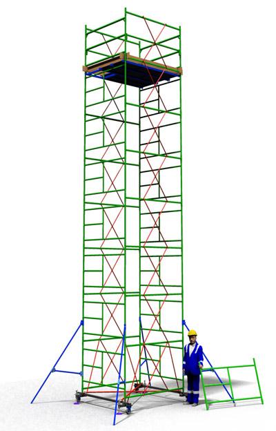 Вышка тура ТТ2000ШН (10,10)