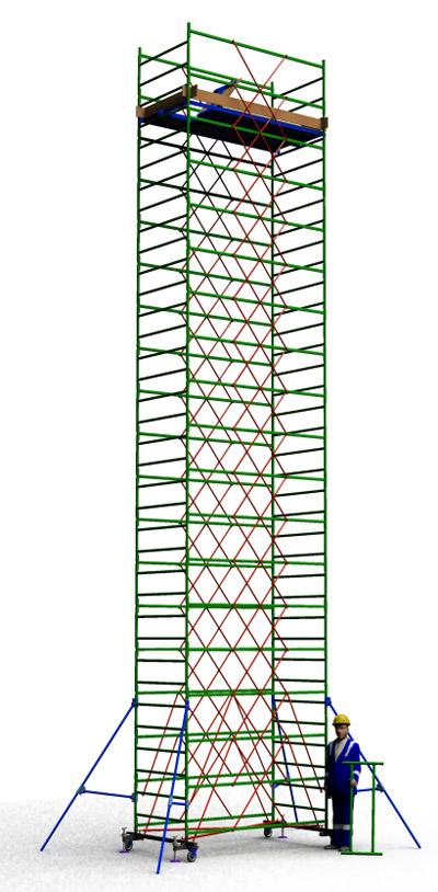 Вышка тура строительная ТТ2400РН (11,30)