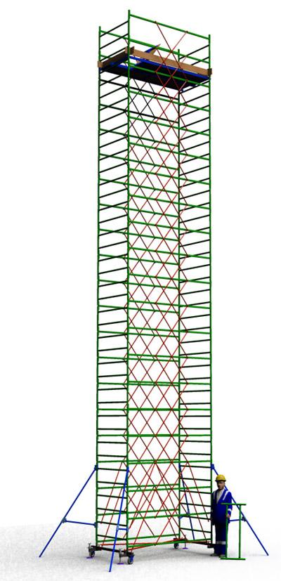Вышка тура строительная ТТ2400РН (12,50)