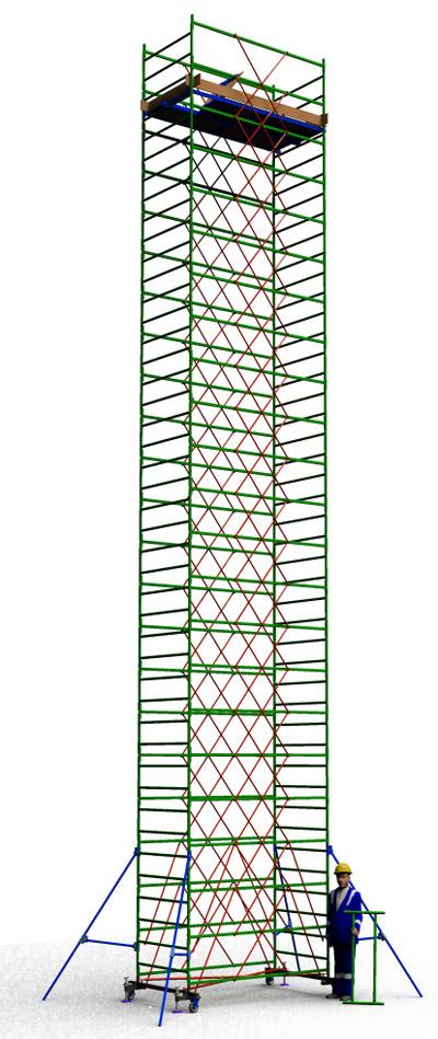 Вышка тура строительная ТТ2400РН (13,70)