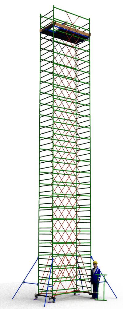 Вышка тура строительная ТТ2400РН (14,90)
