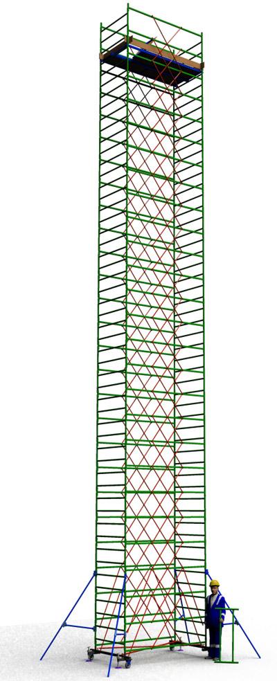 Вышка тура строительная ТТ2400РН (16,10)