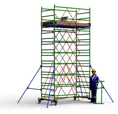 Вышка тура строительная ТТ2400РН (5,30)