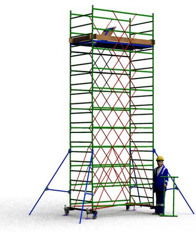 Вышка тура строительная ТТ2400РН (6,50)