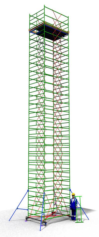 Вышка тура строительная ТТ2400РШН (14,90)