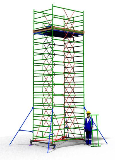 Вышка тура строительная ТТ 2400РШН(7,70)