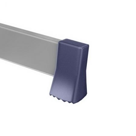 ALUMET Алюминиевая двухсекционная лестница широкий профиль 2Х18 ступ. (арт. 6217)