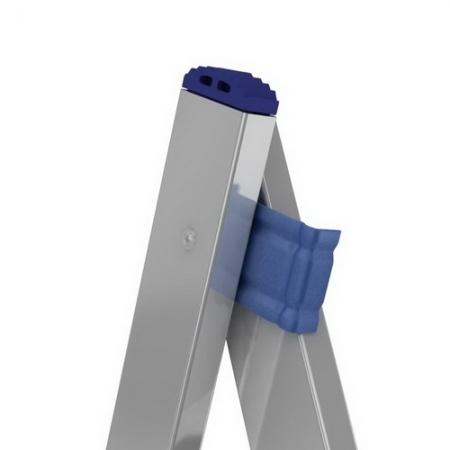 ALUMET Алюминиевая двухсекционная лестница 2Х12 ступ. (арт. 5212)