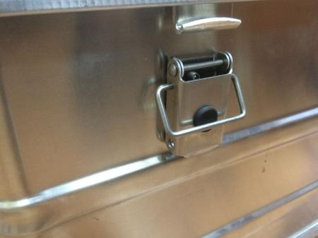 Алюминиевый ящик тип А 73 арт. 256041