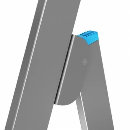 Стремянка с поручнями и большой площадкой 10 ступеней Krause Stabilo