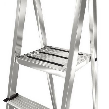 Safety алюминиевая стремянка с большой полкой 7 ступ .