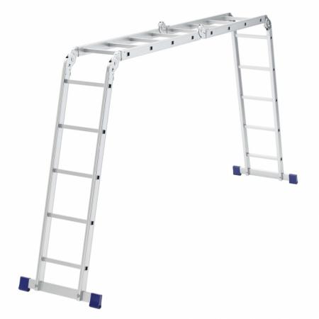 Алюминиевая лестница-трансформер 2х4+2х5 Stairs