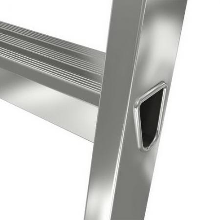 Solido алюминиевая стремянка со ступенями 6 ступ.