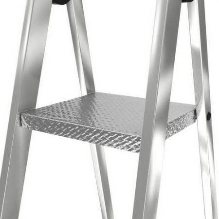 KRAUSE Solido Aлюминиевая стремянка со ступенями 5 ступ. (арт. 5126641)