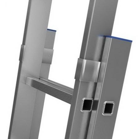 KRAUSE Stabilo Двухсекционная выдвижная лестница 2х15 ступ. (арт. 133328 )