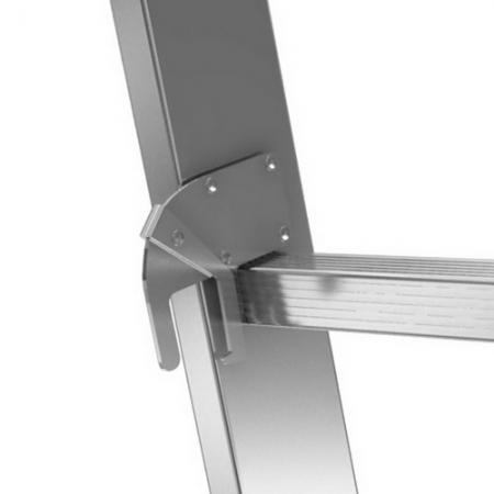KRAUSE Stabilo Двухсекционная лестница 2x9 ступ. (арт. 133472)