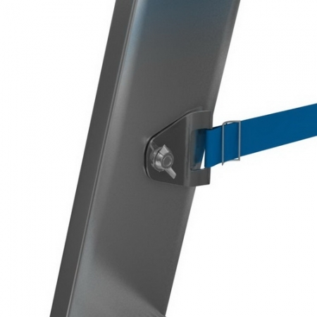 Передвижная двухсторонняя стремянка с роликами 2x10 Stabilo Krause