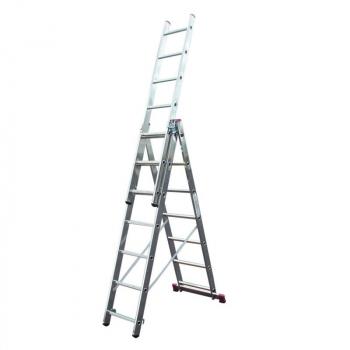 KRAUSE Corda Универсальная лестница 3Х7 ступ. (арт. 010377)