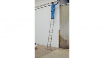 Двухсекционная шарнирная лестница 2х6 Krause Stabilo