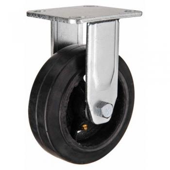 Колесо большегрузное неповоротное, обрезиненное серии FCD - 250 мм. (арт. 550250)