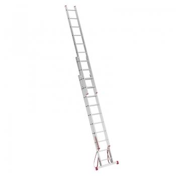 Алюминиевая 3-секционная лестница-стремянка Alpos 3Х10