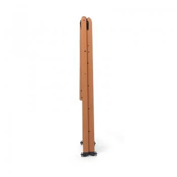 Стремянка деревянная Lascala 5 ступеней, цвет орех (арт. LS5O)