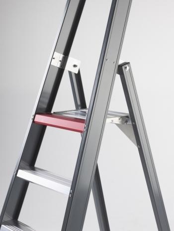 FALCO (FEO) Cтремянка анодированная 7 ступ. (арт. 191327)
