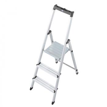 Solidy свободностоящая алюминиевая стремянка 3 ступ.