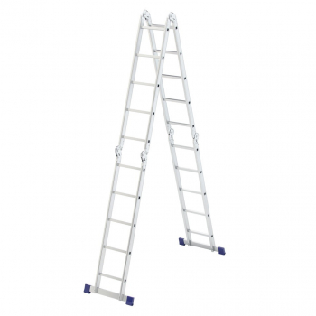 Алюминиевая лестница-трансформер 4х5 Stairs