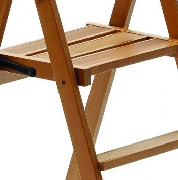 Деревянная стремянка Kimora 4 ступ, вишня (арт. 180/4V)