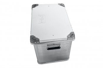 Ящик алюминевый РИФ L76 усиленный с замком