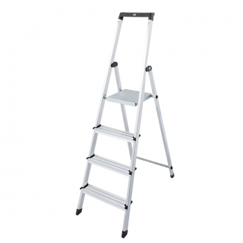 Solidy свободностоящая алюминиевая стремянка 4 ступ.