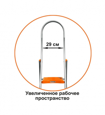 """Лестница стремянка Эйфель """"Триумф"""" 2 ступени"""