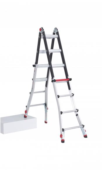 Шарнирная лестница-трансформер Altrex Varitrex Teleprof FLEX 4X4