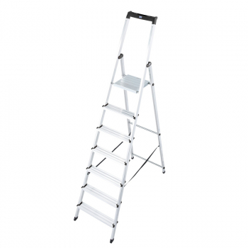 Solidy свободностоящая алюминиевая стремянка 7 ступ.