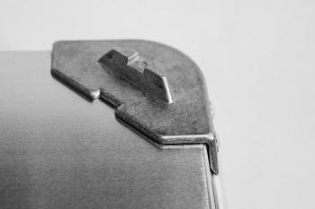 Ящик алюминиевый РИФ L47 усиленный с замком