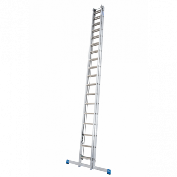 KRAUSE Stabilo Профессиональная трехсекционная лестница выдвигаемая тросом 3Х14 ступ. (арт. 800756)