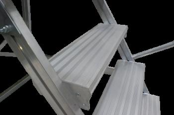 KRAUSE Corda Лестница с площадкой 5 ступеней (арт. 820037)