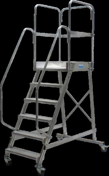 KRAUSE Corda Лестница с площадкой Krause 6 ступ. (арт. 820044)