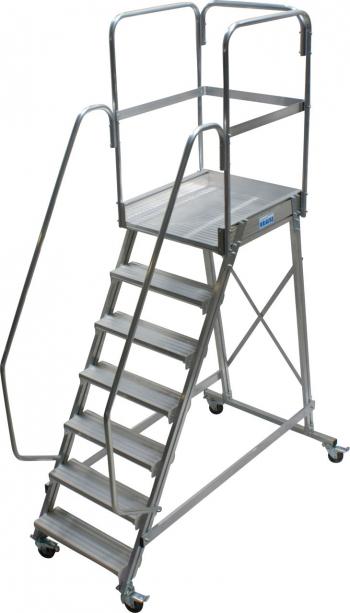 Лестница с площадкой Krause 7 ступеней