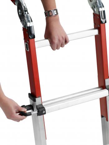 Шарнирная лестница-трансформер Altrex Varitrex Do-it-all (с площадкой)